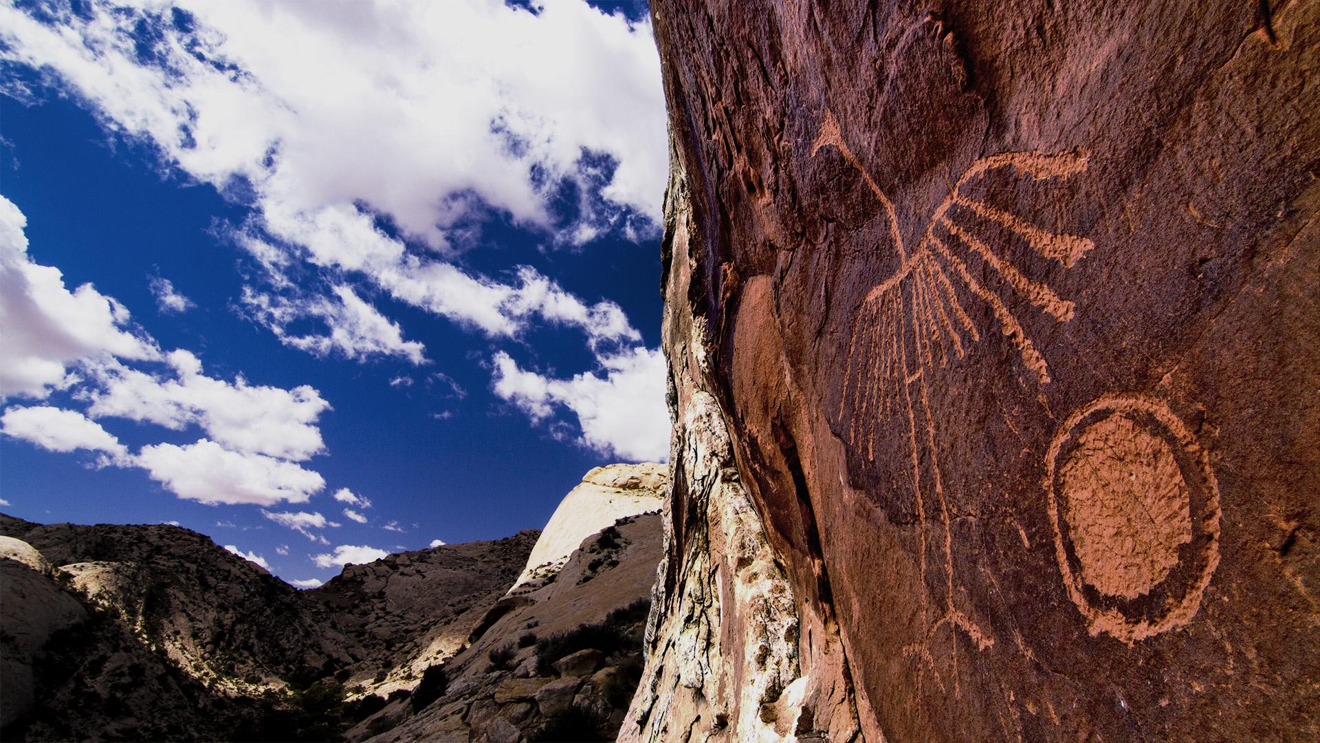 Bears Ears petroglyph
