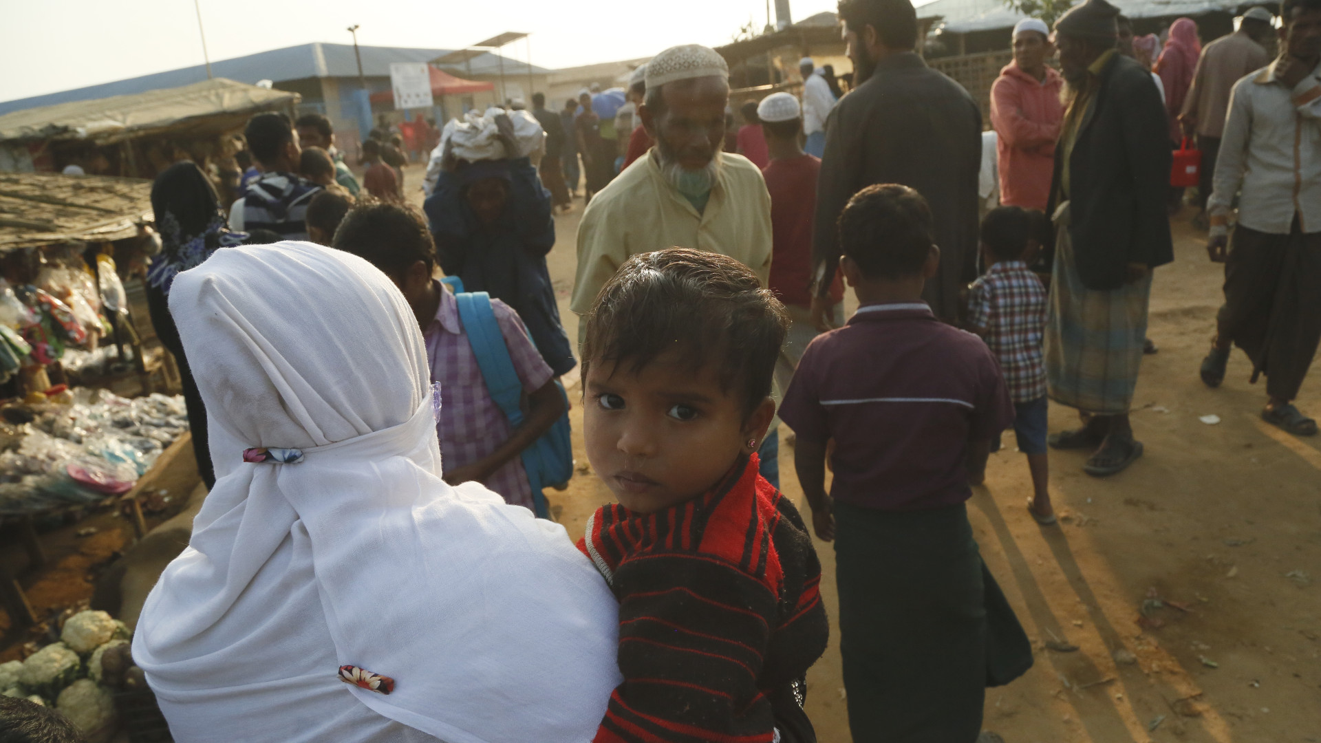 Rohingya refugees in Bangaldesh
