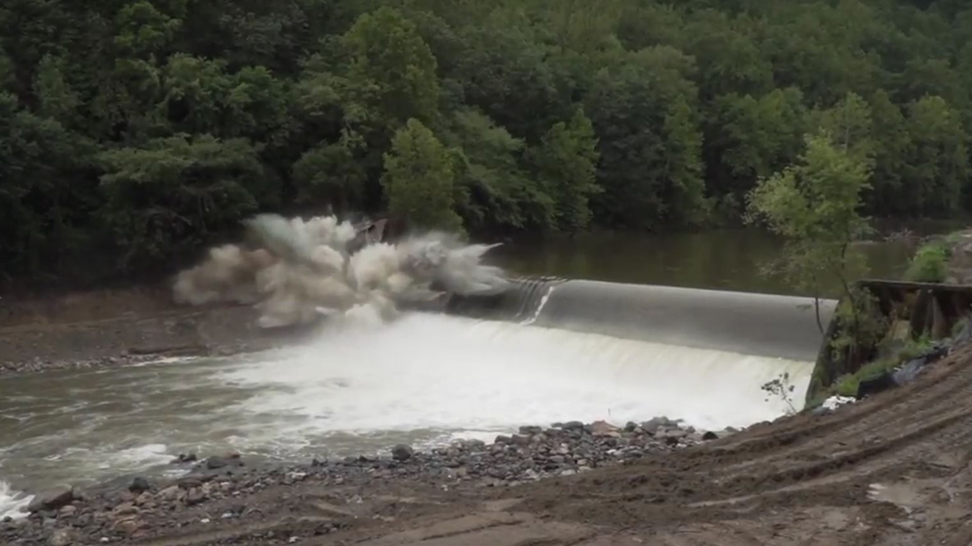 Bloede dam removal