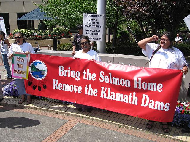 Klamath protest