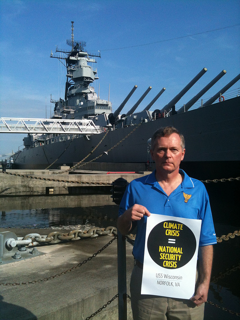 Retired U.S. Navy Captain Joe Bouchard