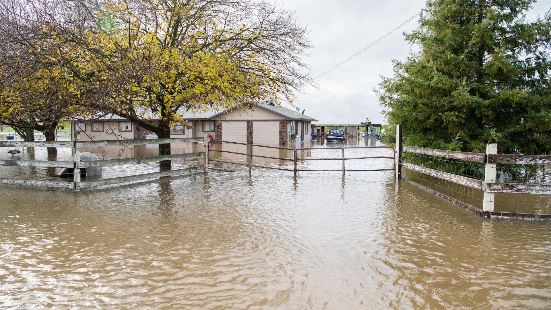 California flood