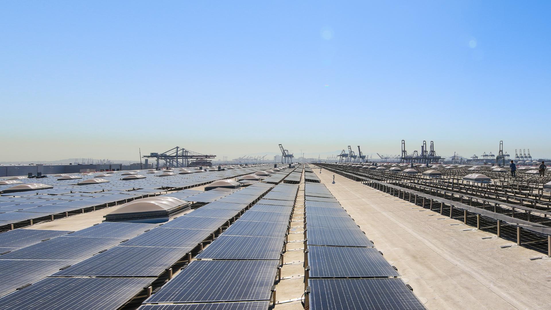 Solar at Port of LA