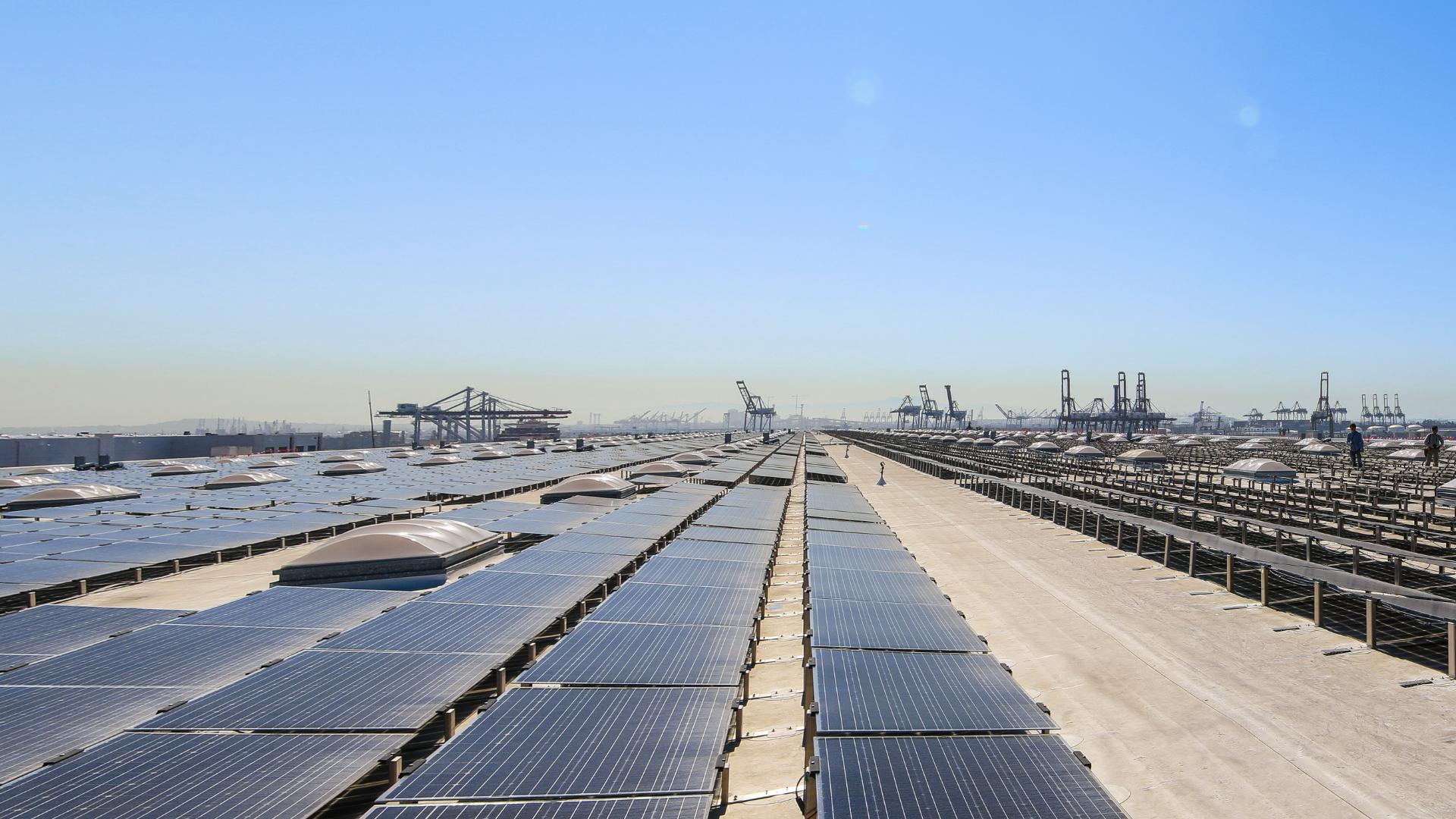 Solar at Port of LA