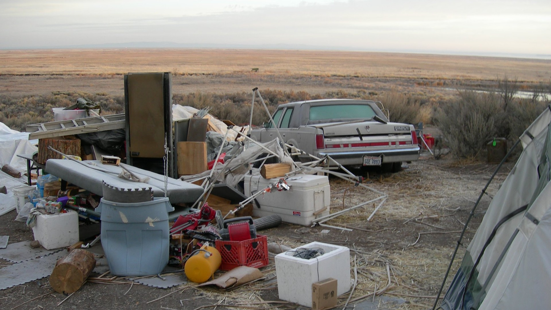 Malheur damage