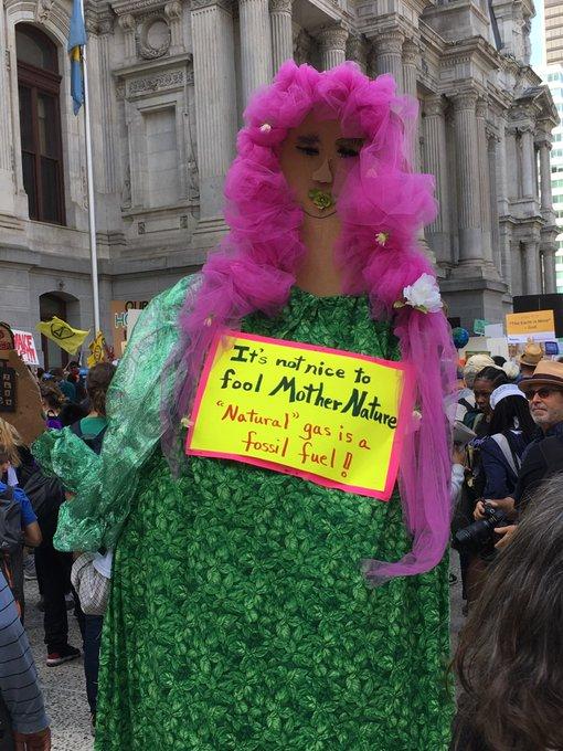climate strike philly