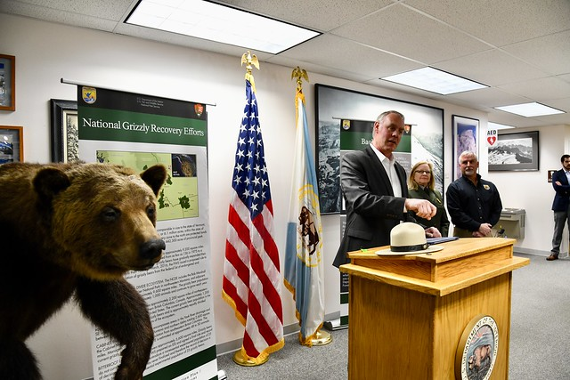 Ryan Zinke grizzly