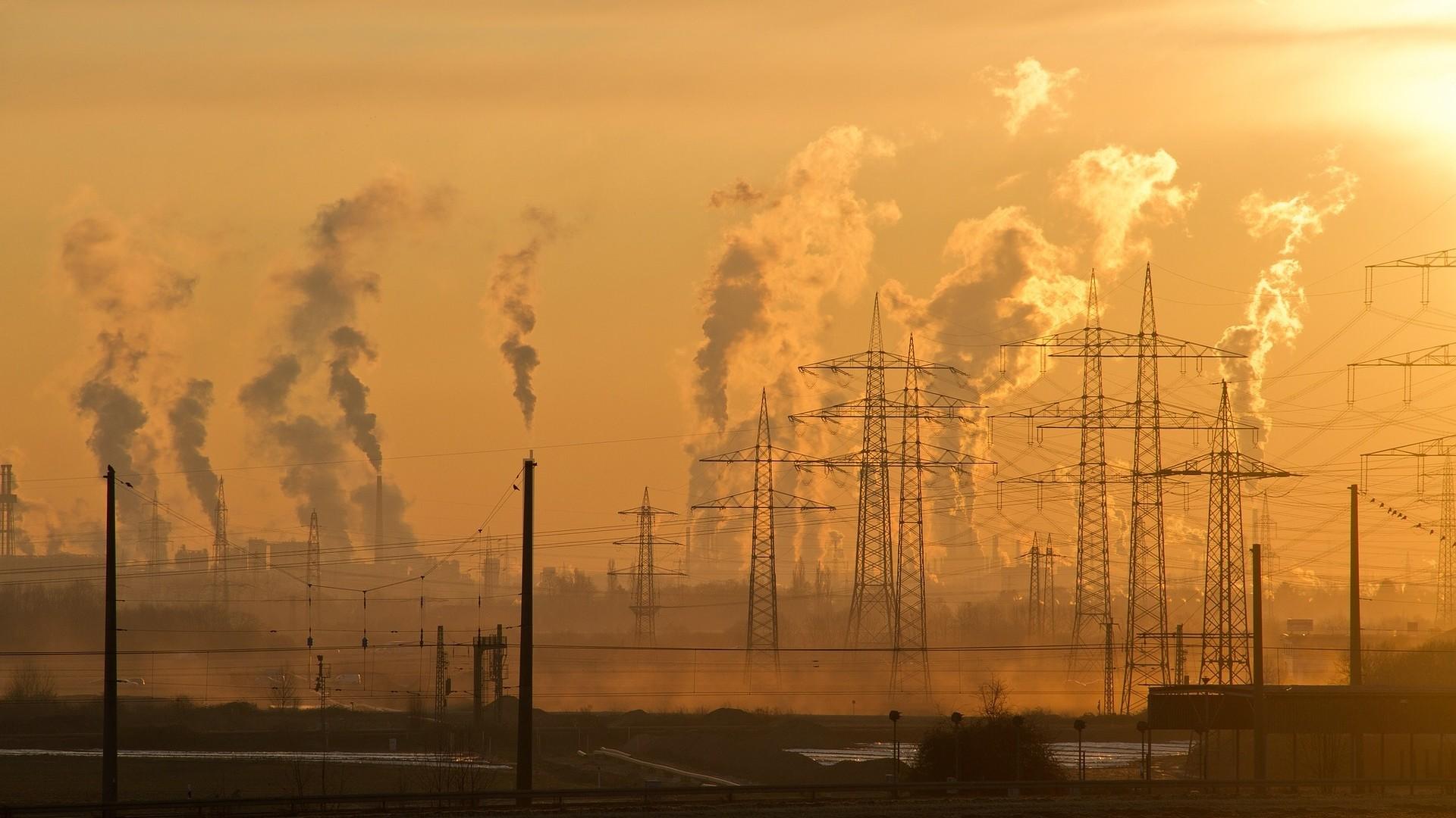 smoke stack pollution