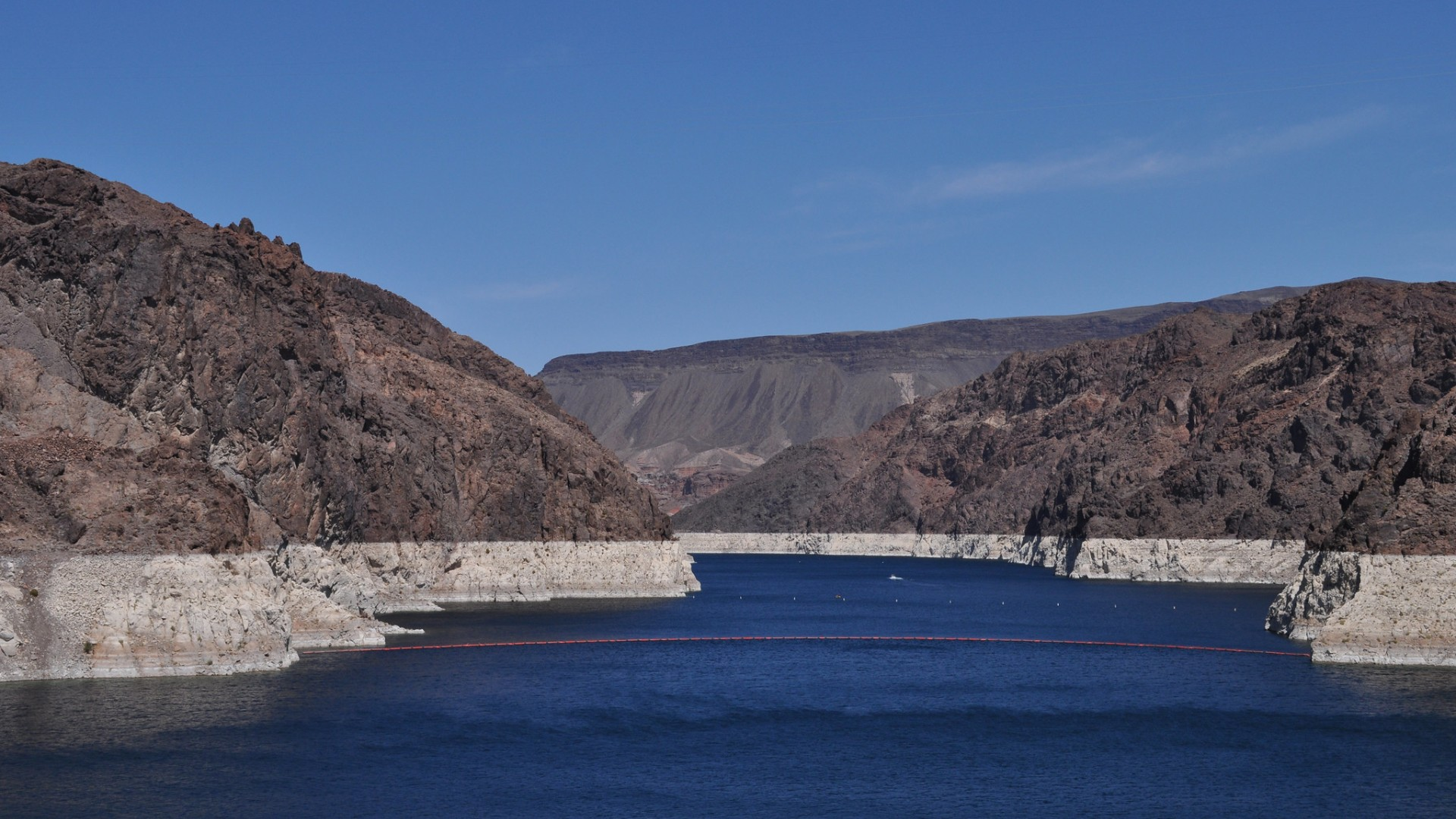 Lake Mead water line