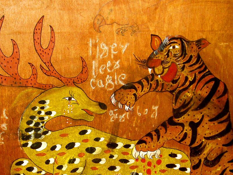 tiger prey nepal