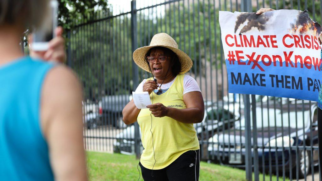 Exxon protest