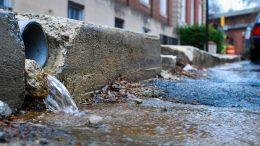 stormwater drain pipe