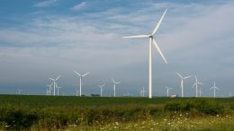 turbines in fields