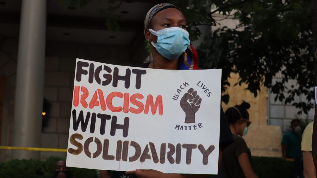 Black Lives Matter/George Floyd Protest, June 2020. Photo: Elvert Barnes (CC BY-SA 2.0)