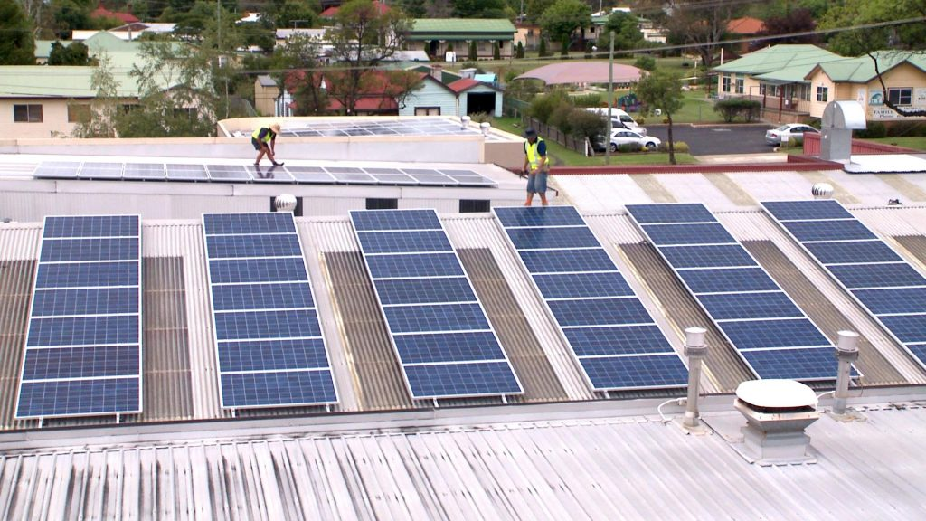 installing solar on roof