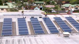 installing solar on roof