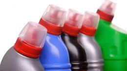 plastic bottles with plastic cap