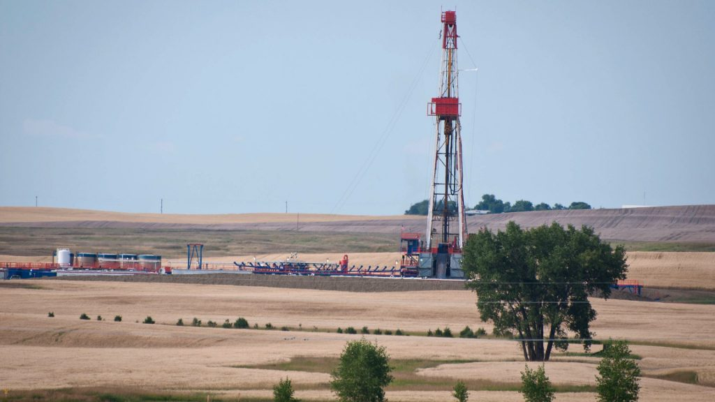 oil drilling in plains