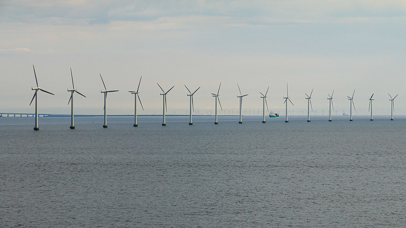 turbines in the water