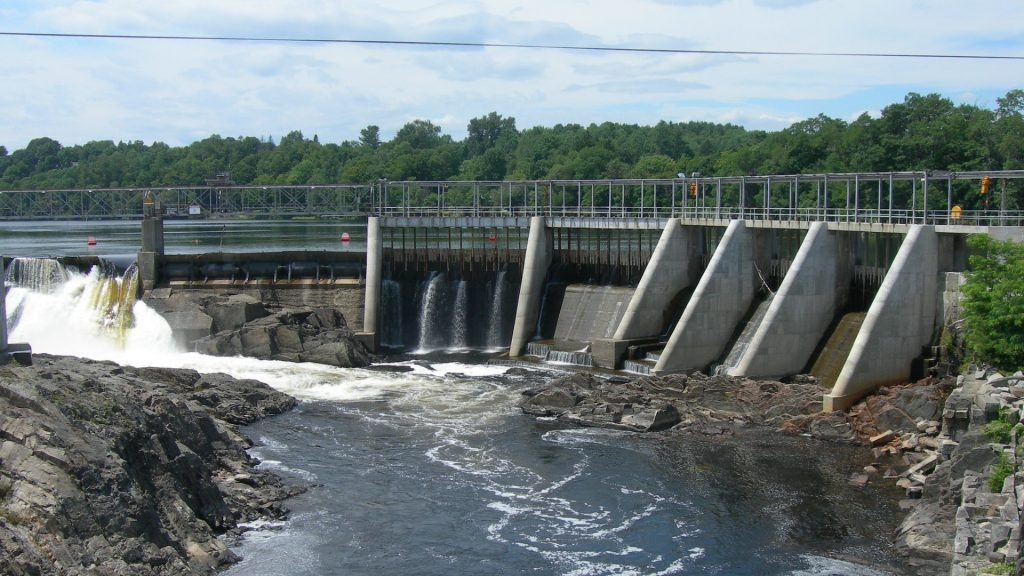 dam on river