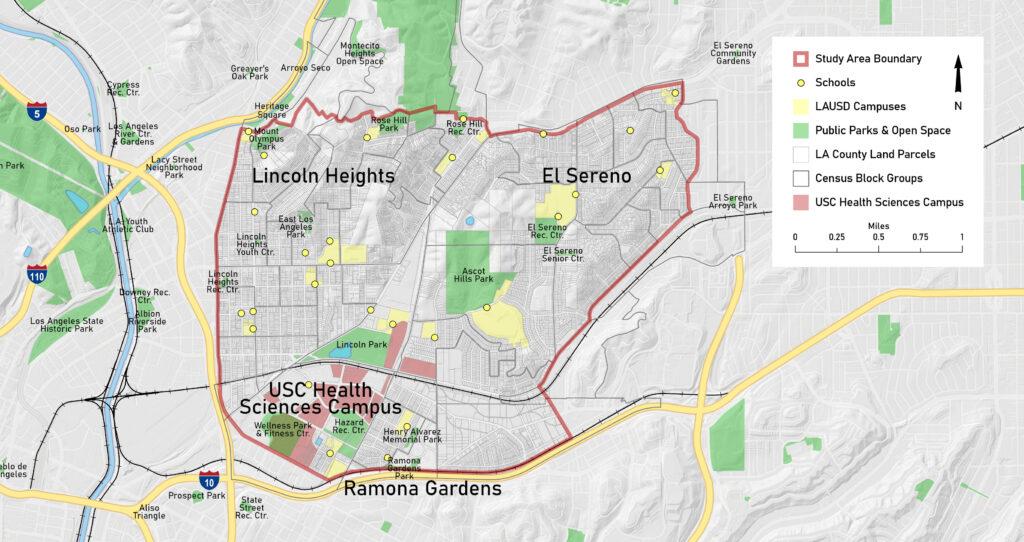 maps of neighborhoods