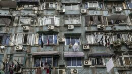 buildings with a/c units