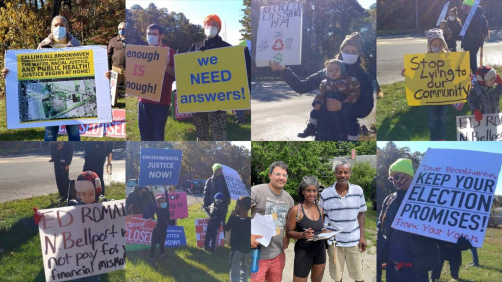 Brookhaven landfill protest